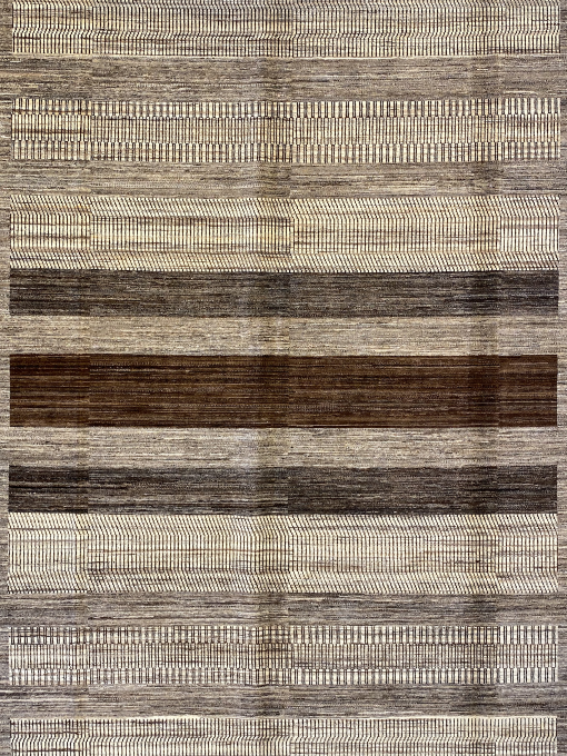 "Gabbeh 9' 10"" x 13' 6"" Handmade Area Rug - Shabahang Royal Carpet"