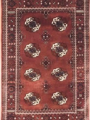"Bokara 3' 4"" x 5' Handmade Area Rug - Shabahang Royal Carpet"