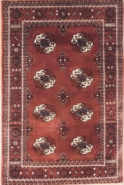 """Bokara 3' 4"""" x 5' Handmade Area Rug - Shabahang Royal Carpet"""