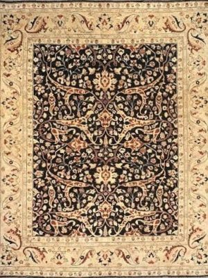 "Mahal 8' x 9' 5"" Handmade Area Rug - Shabahang Royal Carpet"