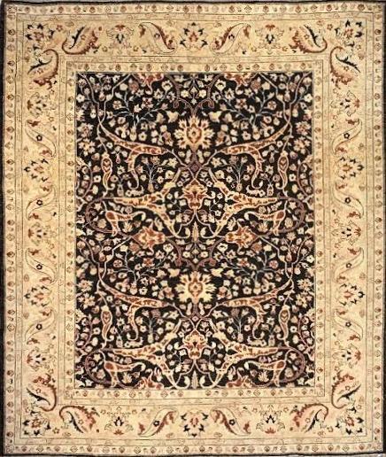 "Mahal 8' x 9' 5"" Handmade Area Rug - Shabahang Royal Carpet"