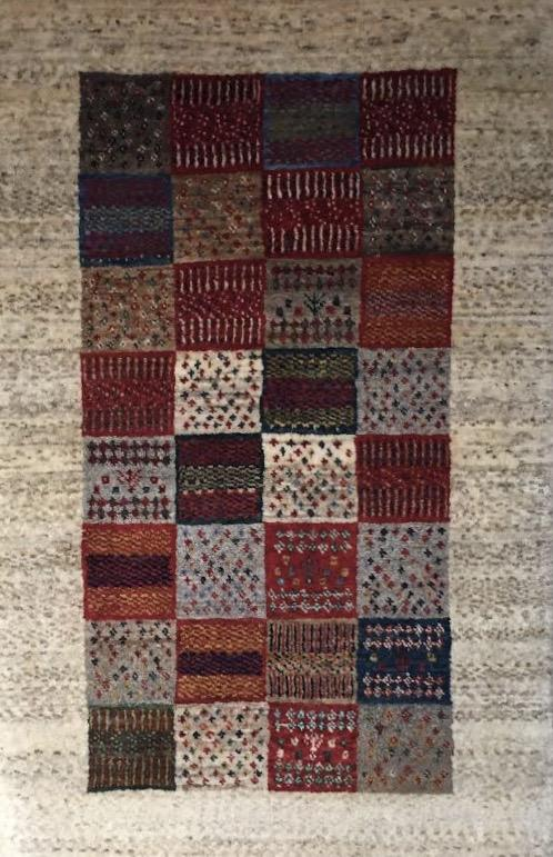 """Persian Gabbeh 2' 1"""" x 3' 2""""  Handmade Area Rug - Shabahang Royal Carpet"""