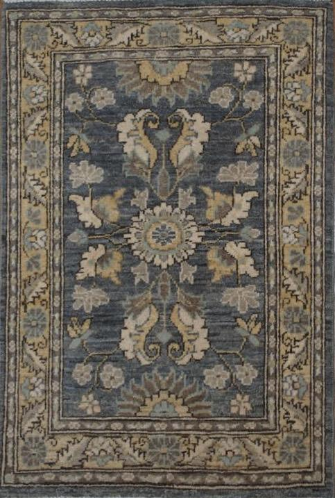 """Peshawar 2' 1"""" x 3' 2"""" Handmade Area Rug - Shabahang Royal Carpet"""