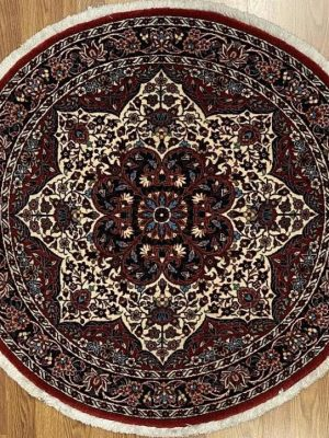 "Persian Bijar 3' 5"" x 3' 5"" Handmade Area Rug - Shabahang Royal Carpet"