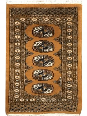 "Bokara 2' 1"" x 2' 9"" Handmade Area Rug - Shabahang Royal Carpet"