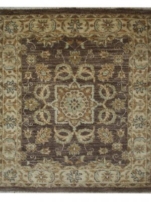 "Peshawar 2' 6"" x 2' 9"" Handmade Area Rug - Shabahang Royal Carpet"