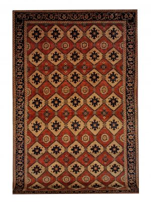 "Persian Gabbeh 7' 1"" x 11' Wool Handmade Area Rug - Shabahang Royal Carpet"