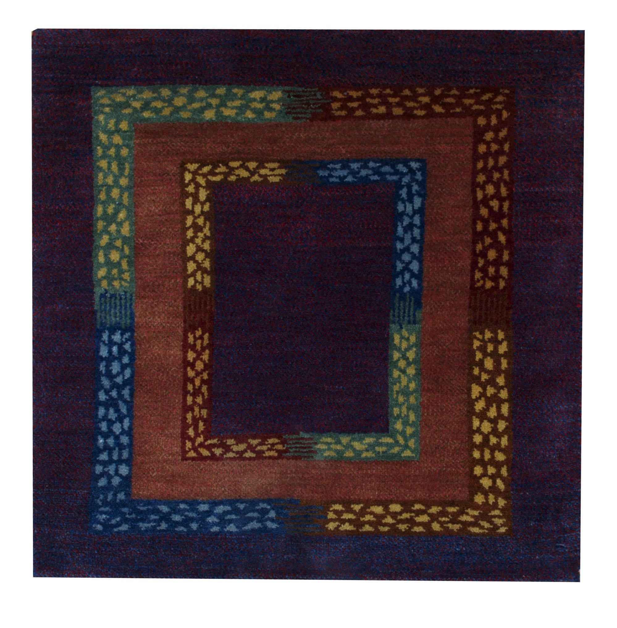 Gabbeh 2' x 2' Handmade Area Rug - Shabahang Royal Carpet