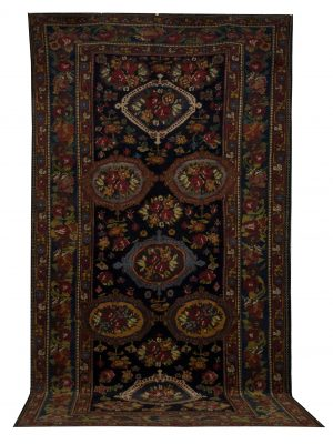 Antique Persian Bakhtiari 6' x 12' - Shabahang Royal Carpet