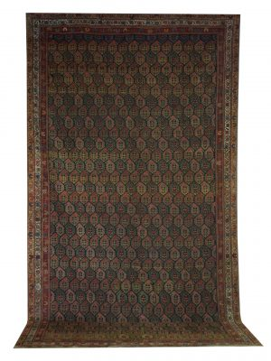 "Antique Persian Malayer 6' 7"" x 11' 3"" - Shabahang Royal Carpet"