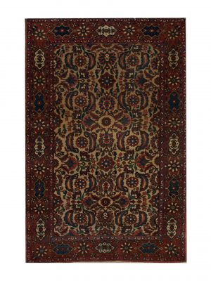 "Antique Persian Bakhtiari 4' 3"" x 6' 11"" - Shabahang Royal Carpet"